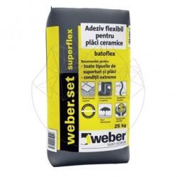 Adeziv Profesional - Weber Set Superflex max 25kg - Accesorii piatra naturala