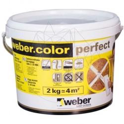 Chit Rosturi - Weber Color Perfect Milk 2kg - Accesorii piatra naturala