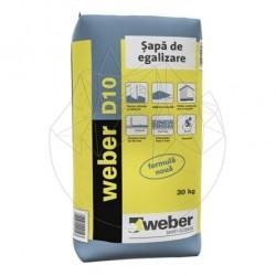 Sapa de egalizare - Weber D10 -30kg - Accesorii piatra naturala
