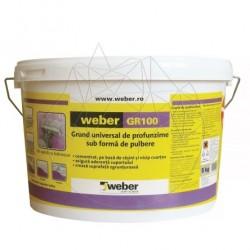 Grund universal de profunzime - Weber GR 100 - 5Kg - Accesorii piatra naturala