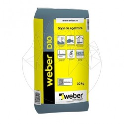 Sapa fina de egalizare - Weber D10 - 30kg - Accesorii piatra naturala