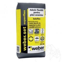 Adeziv Profesional - Weber Set Superflex Max² - 25kg - Accesorii piatra naturala