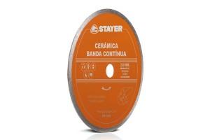 Disc diamantat CERAMICA BANDA CONTINUA STAYER - Accesorii polizoare de banc si unghiulare Stayer