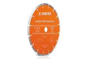 Disc diamantat LASER PROFESIONAL STAYER - Accesorii polizoare de banc si unghiulare Stayer