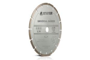 Disc diamantat UNIVERSAL BASIC STAYER - Accesorii polizoare de banc si unghiulare Stayer