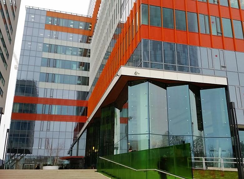 Green Court Bucharest o cladire verde realizata cu ajutorul SPECTRUM INOVATIV & INDUSTRIES - Green Court