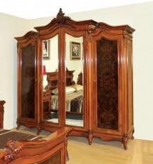 Dulap 6 usi lemn masiv Poesis - Mobila dormitor lemn masiv Poesis