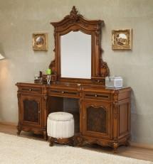 Toaleta si rama oglinda lemn masiv Poesis - Mobila dormitor lemn masiv Poesis