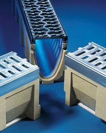 Rigole cu gratar din beton cu polimeri Multiline - Rigole cu gratar din beton cu polimeri Multiline