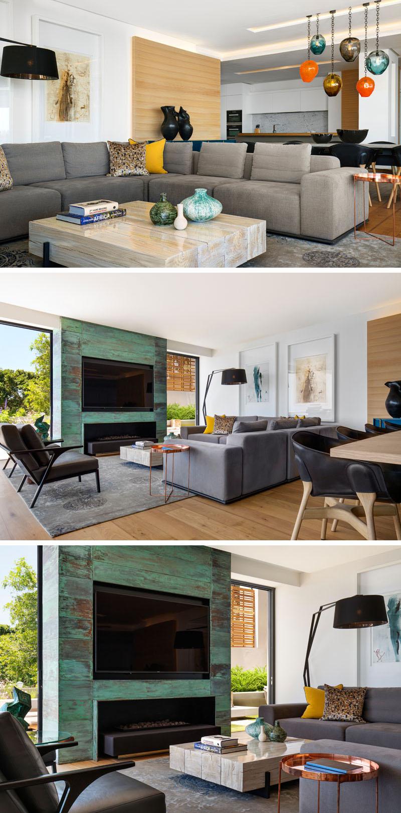 Un apartament amenajat printr-un amestec de materiale contemporane - Un apartament amenajat printr-un amestec de materiale