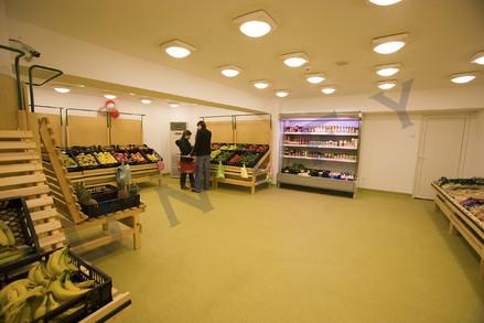 Pardoseala epoxidica - supermarket - Pardoseli epoxidice industriale