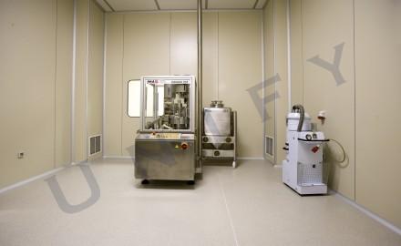 Pardoseala epoxidica - fabrica de medicamente - Pardoseli epoxidice industriale