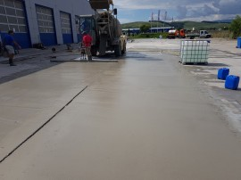 Exemplificarea unei lucrari de reconditionare suprafata beton - Iveco - Reconditionare suprafete betoane degradate, cu Rebeton