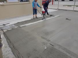 Detaliu etapa reconditionare beton  - Klauss - Reconditionare suprafete betoane degradate, cu Rebeton