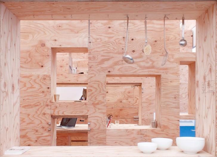 Un apartament modulabil in functie de nevoile spatiale ale locatarilor - Un apartament modulabil in functie