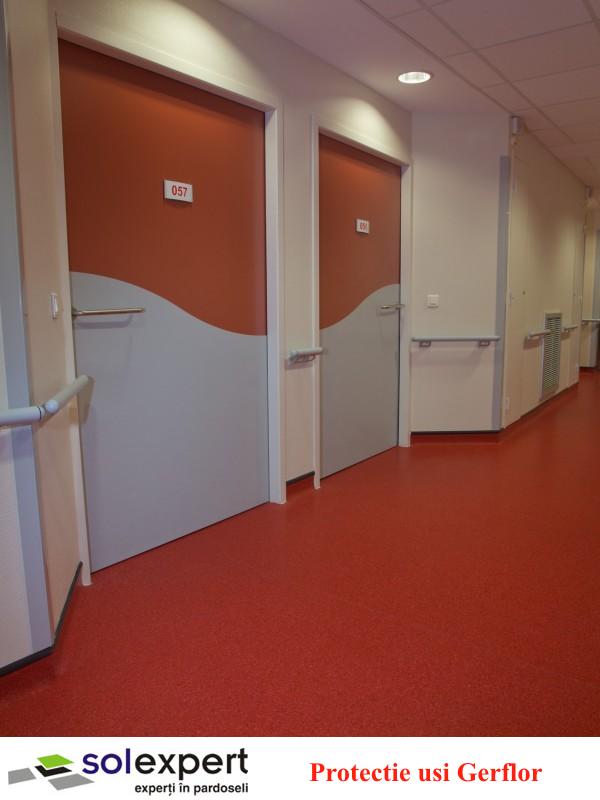 Protectie usi - Sistemele de protectie pereti si balustrade Gerflor - solutia ideala pentru spitale si
