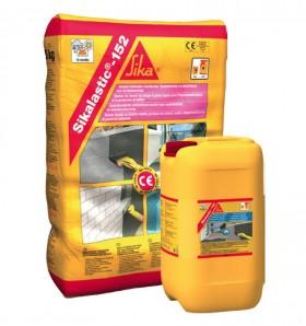 Sikalastic®-152 Mortar flexibil pentru hidroizolatii si protectia betonului - Tratamente de impermeabilizare