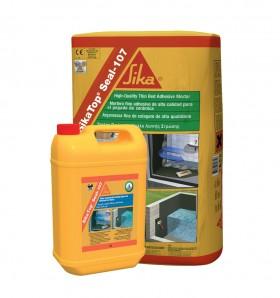 Mortar semi-elastic pentru impermeabilizare si protectie SikaTop®Seal-107 - Tratamente de impermeabilizare