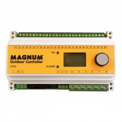 Termostat cu sina temperatura-umiditate ETO2-4550 DIN - Termostate si senzori