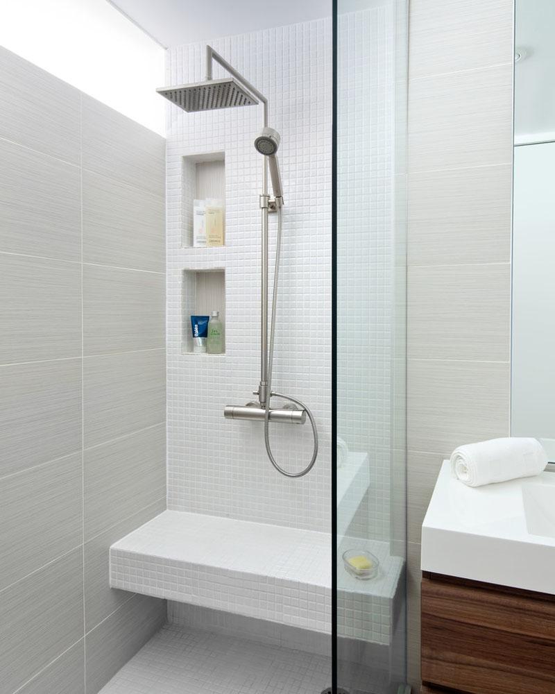 Idei pentru rafturi încastrate în zona dușului - Idei pentru rafturi încastrate în zona dușului