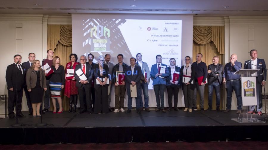 Proiectele de excelenta in mediul construit, premiate la gala Romanian Building Awards - gala rba 1