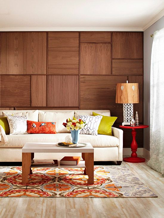 Interioare cu pereti placati cu lemn si impact vizual puternic - Cool wall treatments ...