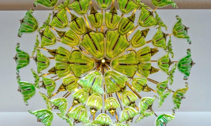 Candelabrul Exhale - Candelabrul cu alge care purifică aerul - un corp de iluminat cu adevărat
