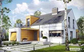 Casa pe structura de lemn - Edgar - Case pe structura de lemn