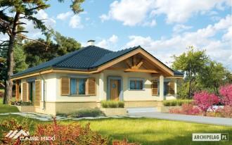 Casa pe structura de lemn - Harold - Case pe structura de lemn
