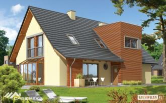 Casa pe structura de lemn - Hugo - Case pe structura de lemn
