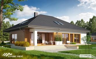 Casa pe structura de lemn - Marcel - Case pe structura de lemn