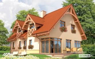 Casa pe structura de lemn - Tala - Case pe structura de lemn