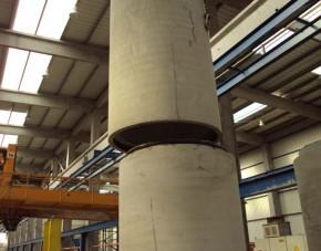 Tuburi cu mufa din beton armat - Tuburi din beton simplu si beton armat