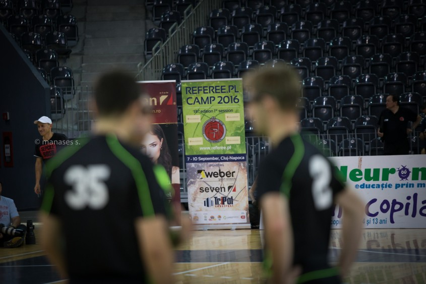 Weber a sponsorizat camp-ul de arbitri de la Cluj Napoca - Weber a sponsorizat camp-ul de