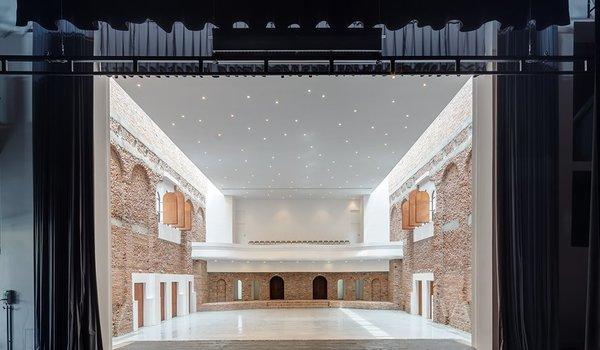 Reabilitarea si functionalizarea Palatului Cultural din Blaj - Premiile Bienalei Nationale de Arhitectura editia a-12-a, 2016