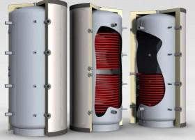 Buffer PS din otel carbon - Buffere pentru apa calda