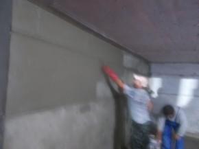Hidroizolatie-impermeabilizare la o parcare subterana din Bucuresti - Hidroizolație-impermeabilizare la o parcare subterană din Bucureșt
