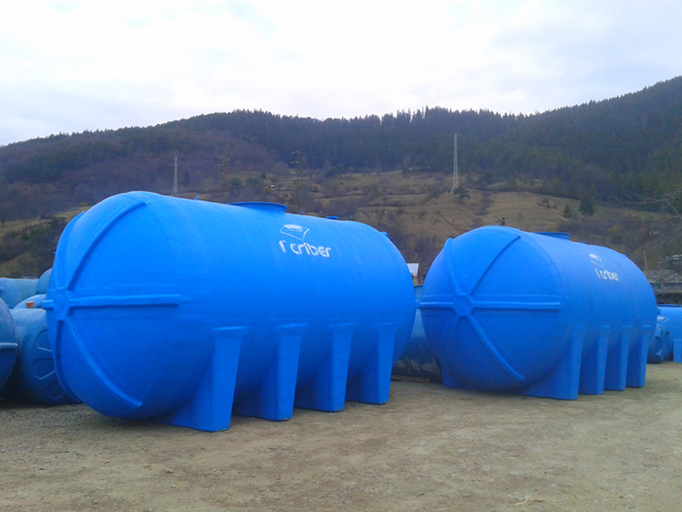 Rezervoare supraterane - Rezervoarele din fibra - o solutie optima