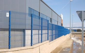 Delfin - panouri bordurate pentru gard - Panouri pentru garduri metalice