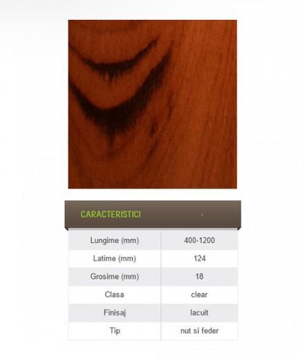 Parchet masiv exotic prefinisat - Tigerwood - Parchet masiv exotic prefinisat
