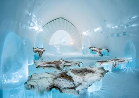 Design deosebit pentru un hotel de gheata - Design deosebit pentru un hotel de gheat