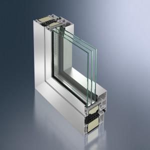 Profil din aluminiu pentru fereastra - Schüco AWS 90. SI+ - Profil din aluminiu pentru fereastra - Schüco AWS 90. SI+