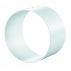 Conector tub flexibil PVC, ventilatie, diam 100mm - Accesorii ventilatie tubulatura pvc si conectori