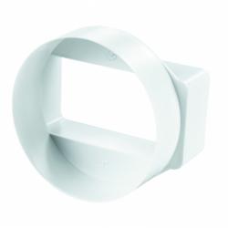 Trecere de la diam 103mm la 58*144mm - Accesorii ventilatie tubulatura pvc si conectori