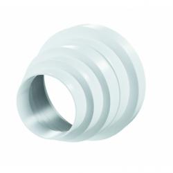 Reductie universala 80-100-120-125-150mm, grosime perete plastic 2.5mm - Accesorii ventilatie tubulatura pvc si conectori