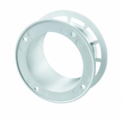 Flansa diam 125mm - Accesorii ventilatie tubulatura pvc si conectori