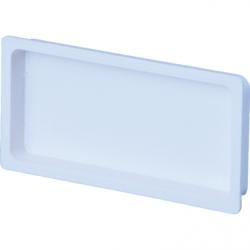 Capac tub rectangular 60*122 - Accesorii ventilatie tubulatura pvc si conectori