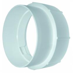 Conector tub pvc/tub flexibil al, diam 125mm - Accesorii ventilatie tubulatura pvc si conectori