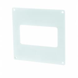 Placa fixare perete PVC, 110*55mm - Accesorii ventilatie tubulatura pvc si conectori