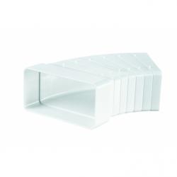 Conector multi-unghi, tub rectangular, 110*55mm - Accesorii ventilatie tubulatura pvc si conectori